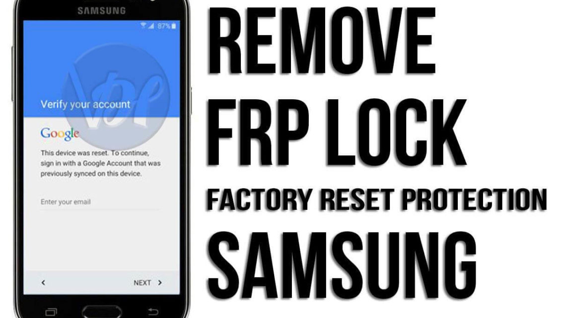 How to bypass factory reset protection on Samsung mobile