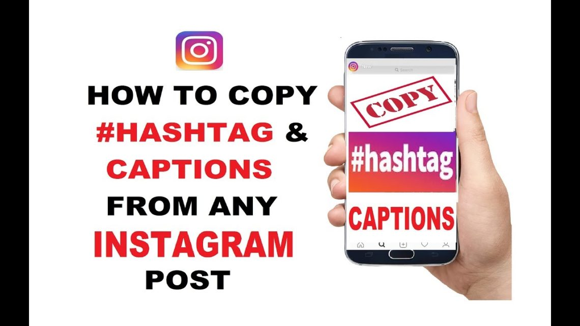 How to copy Instagram Captions from others Profile in Android