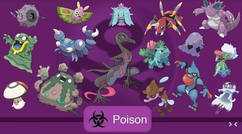 How to counter and defeat poison type pokemon
